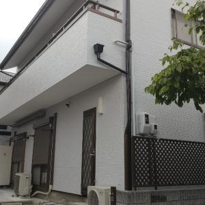 吹田市M様邸の外壁塗装が完成しました。