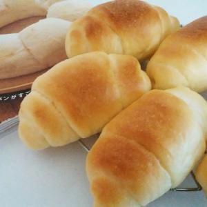 バターロールとふたごパン