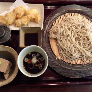 【まるぬき@中央林間】天丼と蕎麦のセット&鶏天とせいろ蕎麦のセット!