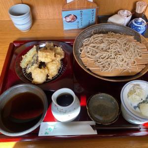 【まるぬき@中央林間】本格蕎麦屋で冬の幸(牡蠣・白子・ほたて)天せいろをいただいた!