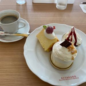 【北菓楼札幌本館】おしゃれな店内でソフトクリーム付きケーキセットをいただきました!