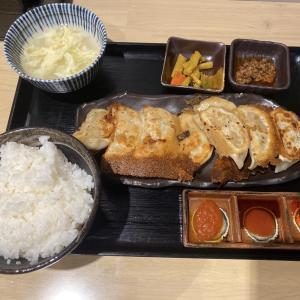 【餃子いち】うまうま餃子定食!