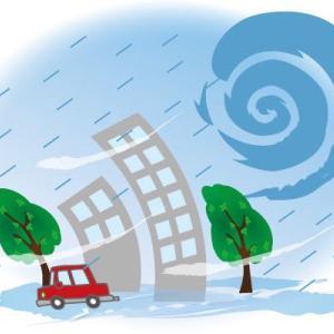 台風は去っても吹き返しの風に注意