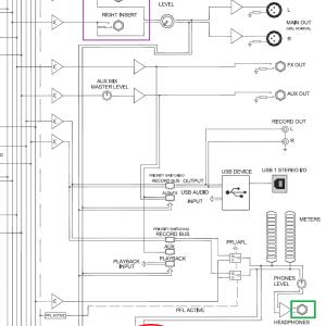 (番外)PCオーディオシステムでのトラブル(3)アナログミキサーZED-10(2)問題のあったメイン出力回路