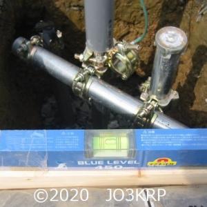 過去のHP記事再現(30)アンテナプロジェクト(12)基礎工事(6)アンテナ支持基礎(3)コンクリート打設準備
