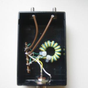 バランの基本と応用(2)応用編の製作事例(1)ビバレッジアンテナ用給電(受電)バラン