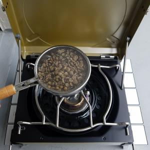 初めての自家焙煎