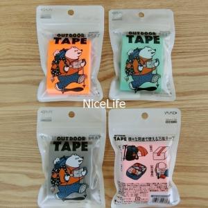 【防災グッズ】携帯に便利なガムテープ(アウトドアテープ)は油性ペンと一緒に非常用持ち出し袋に!