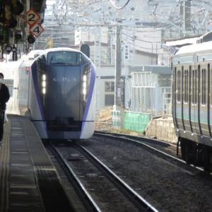 中央本線特急「あずさ」全車指定席@スワローランプ点灯シーケンス報告
