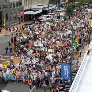 「Friday For Future」世界で400万人以上参加 温暖化対策訴えるデモ