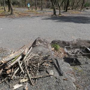 枯れ枝での焚火対策