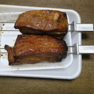 BBQで肉の塊を焼きませんか