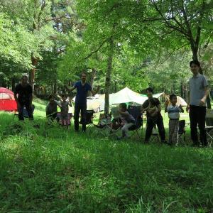 孫たちとキャンプ・・・2017年8月