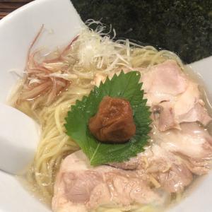 🍜昆布の塩らー麺専門店 MANNISH🍜 台東区浅草橋