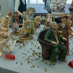 【創作粘土人形に学ぶ】婚活中の会員さんを人形に重ねてみました