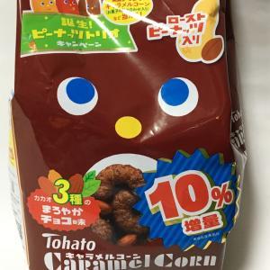 キャラメルコーン チョコ味