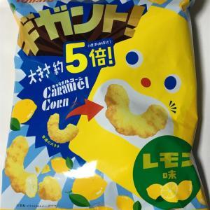 5倍サイズ!!キャラメルコーン レモン