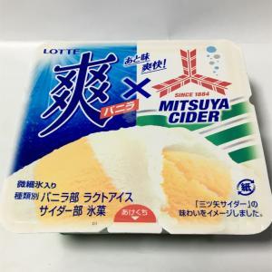 爽×三ツ矢サイダー コラボアイス