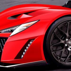 【画像】トヨタ初のハイパーカー「GR スーパースポーツ」キャノピードア搭載で価格は1億円超え