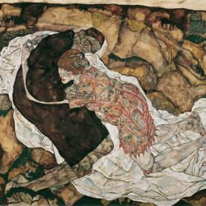 今日はウィーン世紀末にクリムトともに、芸術の黄金時代をもたらしたエゴン・シーレの誕生日