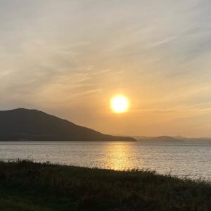 シルバーウィーク2日目③〜サロマ湖の夕陽