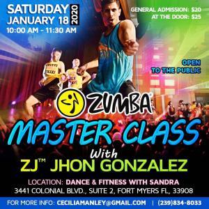ZJ John Gonzalez のマスタークラス!