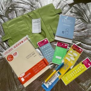 ㊗️ 2021年の手帳が日本から到着!