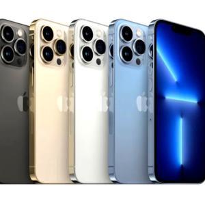 iPhone 13 Pro、シエラブルーを選んで準備万端!