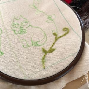 刺繍糸の整理