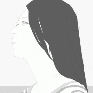 寿美菜子を描く その66 グラビアをスケッチ