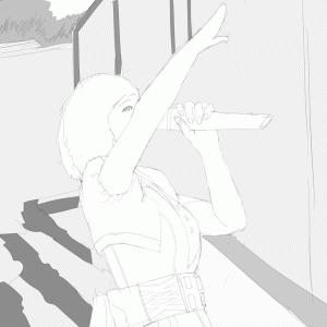 アイドルマスターの中村繪里子を描く その80 スケッチ
