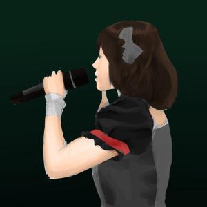 アイドルマスターの中村繪里子を描く その76の2 スケッチを塗る