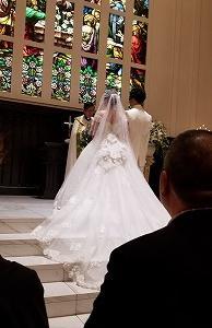 孫ちゃんの結婚式