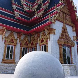 タイの仏教寺院で大開運★