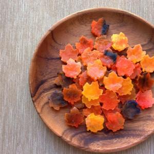食べられる宝石「琥珀糖」秋にオススメのデザイン