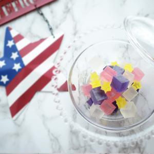 星条旗の琥珀糖 メモリアルデーの週末に