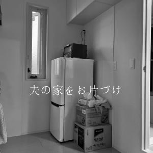 【夫宅のお片づけ】キッチン背面はオープンラックで必要最小限