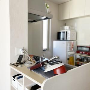 【キッチン】作業スペース確保のために施した2つの対策