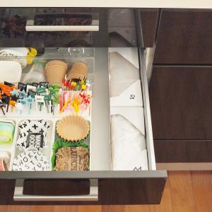 キッチンの小さな改善・念願のポリ袋置き収納が実現しました!