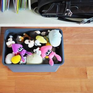 ぬいぐるみ収納と子育ての延命装置