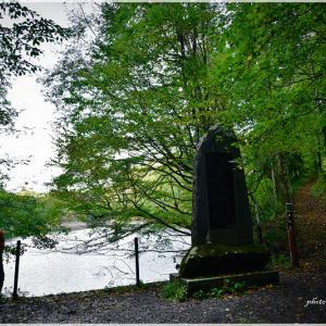 【秋色探訪】十二湖 青池~沸壺の池