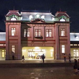 門司港駅(夜のもじこうえき)