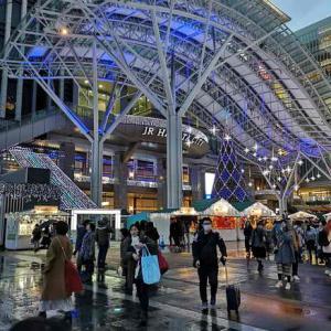 博多駅ライトアップ(屋上展望)