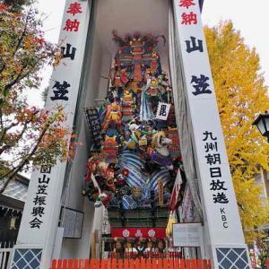 櫛田神社(博多っ子おなじみの神社)