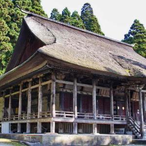 本山慈恩寺(じおんじ)東北屈指の巨刹