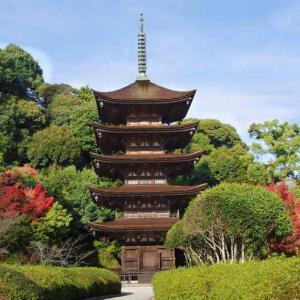 瑠璃光寺(るりこうじ)国宝の五重塔