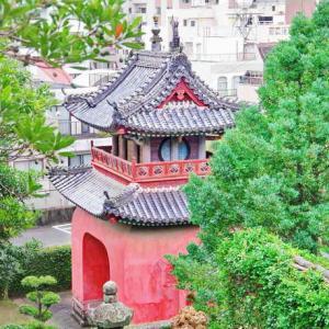 崇福寺(そうふくじ)国宝の第一峰門・大雄宝殿