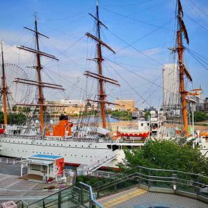 日本丸メモリアルパーク(帆船日本丸)
