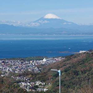 湘南国際村(しょうなんこくさいむら)相模湾&富士山