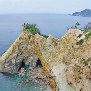 黄金崎(こがねざき)伊豆半島ジオパークを代表する景色